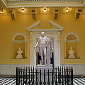 Georg Washington Statue - Capitol Richmond by Christiane Schulze Art And Photography
