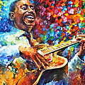 Wes Montgomery by Leonid Afremov