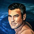 George Clooney 2 by Paul Meijering