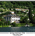 George Clooney Villa.como by Jennie Breeze