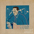 George Gershwin by Giorgi Akhuashvili