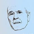 George H. W. Bush by Charles Thayer