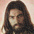 George Harrison Mosaic Image 1 by Steve Kearns