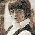 George Harrison Mosaic Image 2 by Steve Kearns