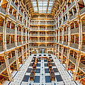 George Peabody Library I by Clarence Holmes