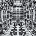 George Peabody Library II by Clarence Holmes