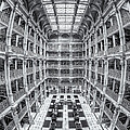George Peabody Library Iv by Clarence Holmes