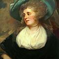 George Romney, British 1734-1802, Lady Arabella Ward by Litz Collection