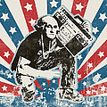 George Washington - Boombox by Pixel Chimp