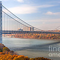 George Washington Bridge by Clarence Holmes