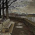 George Washington Bridge From Fort Tryon by Jeff Watts