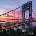 George Washington Bridge by Mihai Andritoiu
