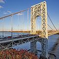 George Washington Bridge Nyc by Susan Candelario