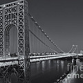 George Washington Bridge Twilight II by Clarence Holmes