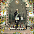 George Washington Freemason by Photo Researchers