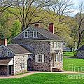 George Washington Headquarters At Valley Forge by Olivier Le Queinec