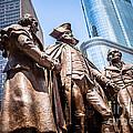 George Washington-robert Morris-hyam Salomon Memorial Statue by Paul Velgos