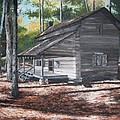Georgia Cabin In The Woods by Beth Parrish