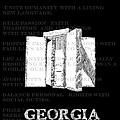 Georgia Guidestones Movie Poster by Baird Hoffmire