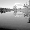 Georgia Lake In Black And White by James Potts
