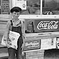 Georgia Newsboy, 1938 by Granger