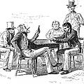 Georgia: Poker Game, 1840s by Granger
