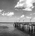 Georgia's St Simon's Island Pier by Kathy Clark