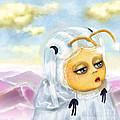 Georgina Deep In Thought by Miss M von Baron