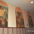 Gerald Mast Murals In Clare Michigan by Terri Gostola