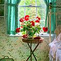 Geraniums In The Bedroom by Nikolyn McDonald