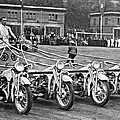 German Chariots At Potsdam by Underwood Archives