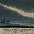 German Comet Illustration by Georgia Fowler