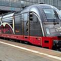 German Electric Train Munich Germany by Imran Ahmed