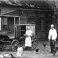 German Farm 1850's by Gerlinde Keating - Galleria GK Keating Associates Inc