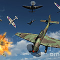 German Ju 87 Stuka Dive Bombers by Mark Stevenson