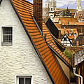 German Rooftops II by Sharon Foster