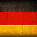 Germany Flag Vintage Distressed Finish by Design Turnpike