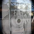 Geronimo Aiming Rifle Poster Window Tombstone Arizona 2005 by David Lee Guss