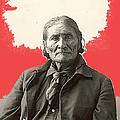 Geronimo Portrait R. Rinehart Photo Omaha Nebraska 1898-2013 by David Lee Guss