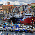 Getaria In Basque Country Spain by Louise Heusinkveld