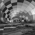 Getting Inflated-bw by Tom Weisbrook