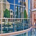 Getty Reflections by Norma Warden