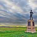 Gettysburg Battlefield Soldier Never Rests by Andres Leon