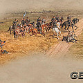 Gettysburg Cyclorama Detail Pickett's Charge  by Randy Steele