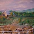Gettysburg Farm by Eric  Schiabor