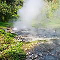 Geyser Hot Spring In Huai Nam Dang National Park In Chiang Mai by Ammar Mas-oo-di