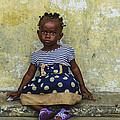 Ghanaian Child by Roberto Pagani
