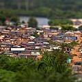 Ghanaian Village by Samuel Whitton