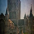 Ghent Skyline by Joan Carroll