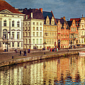 Ghent Waterfront by Joan Carroll